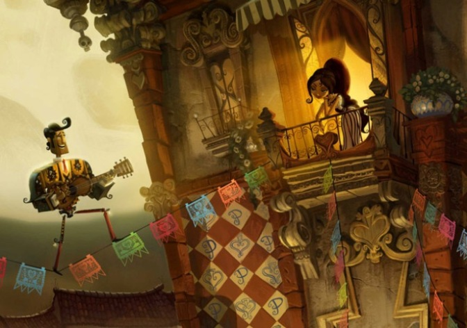IMAGE 2 - Production concept art featuring character designs from the upcoming animated feature THE BOOK OF LIFE.