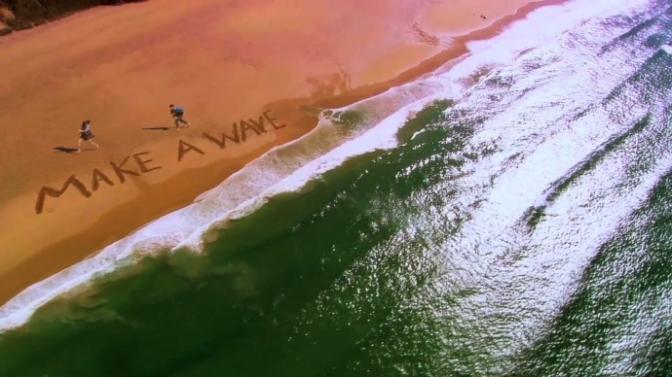 Tạo sóng – Make a wave