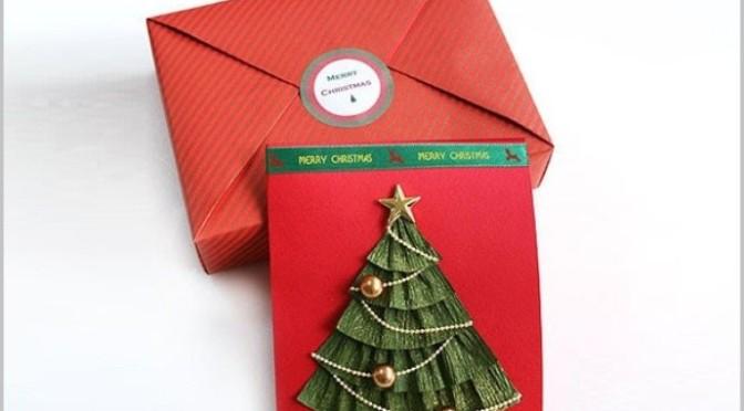Tấm thiệp chúc mừng Giáng Sinh
