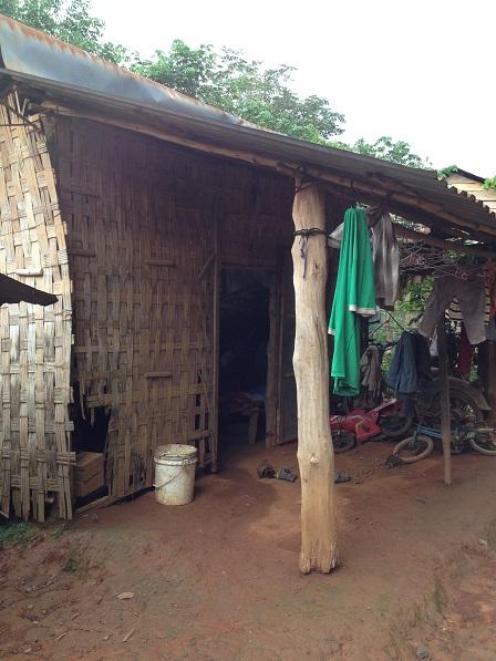 Căn nhà của bố Mãn ở Sóc Bù Môn II – Bù Đăng.
