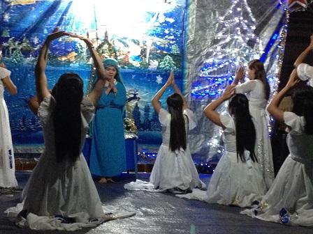 24_Các em Thiếu nhi sóc Sơn Lang vũ bài- Xin Vâng (1)