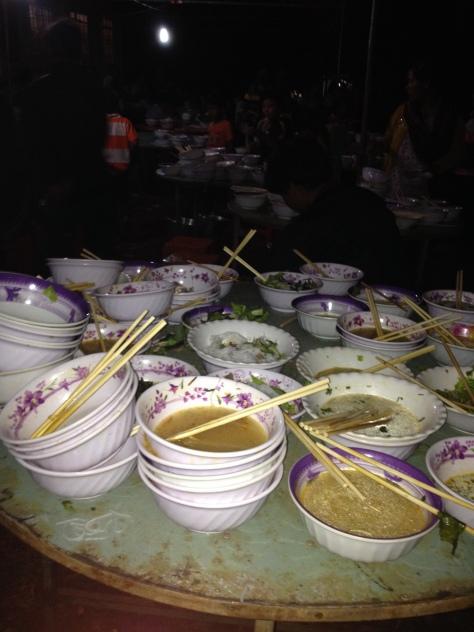 42_Kết thúc Canh Thức và Thánh Lễ đêm Mừng Chúa Giáng Sinh ở Giáo họ sóc Sơn Lang.