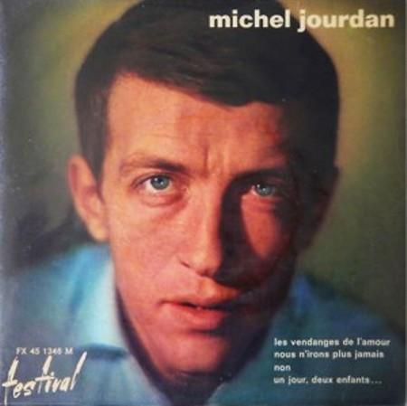 Michel Jourdan thời trẻ.