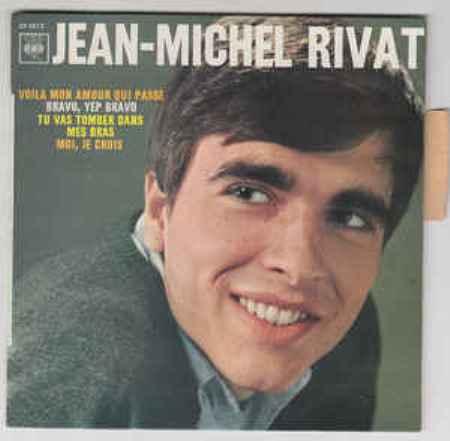 Jean-Michel Rivat thời trẻ.