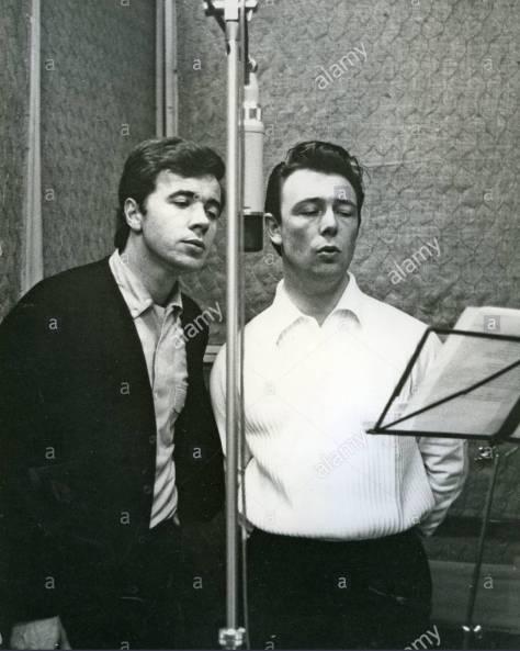 Barry Mason và Les Reed năm 1965.