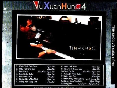 Những tác phẩm bất hủ của nhạc sĩ Vũ Xuân Hùng.