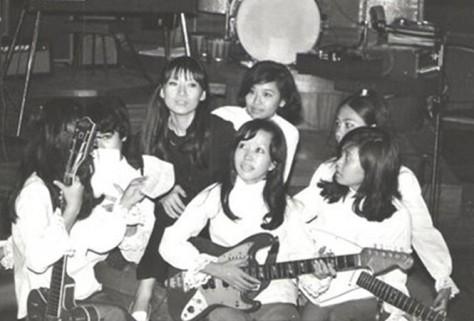 Nhóm nhạc nữ The Blue Stars - ẢNH: TƯ LIỆU