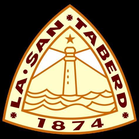 Huy Hiệu Trường Trung Học La San Taberd-thành lập năm 1874 (ảnh Trần Thế Vinh).
