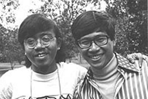 Nhạc sĩ Lê Hựu Hà và Trường Kỳ (thập niên 1960s).