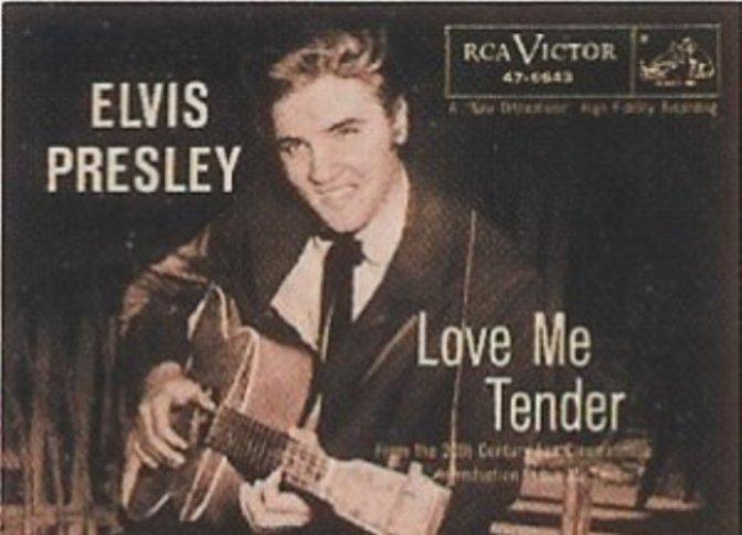 Love me tender – Xin yêu anh dịu dàng