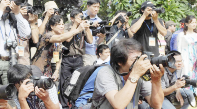 Phóng sự Bảo vệ Nhà báo