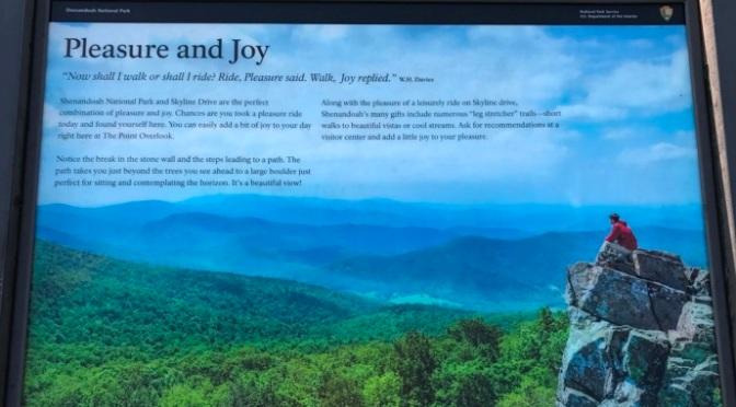 Ảnh sinh hoạt hàng ngày – June 27, 2017 – Shenandoah National Park