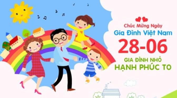 Chào mừng Ngày Gia đình Việt Nam 28/6 – Ảnh hạnh phúc gia đình
