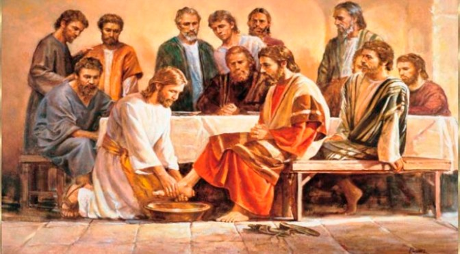 Vì Con Người đã đến không phải để được phục vụ, nhưng để phục vụ
