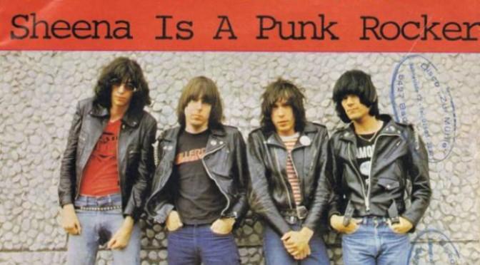 Sheena is a punk rocker – Sheena là punk rocker