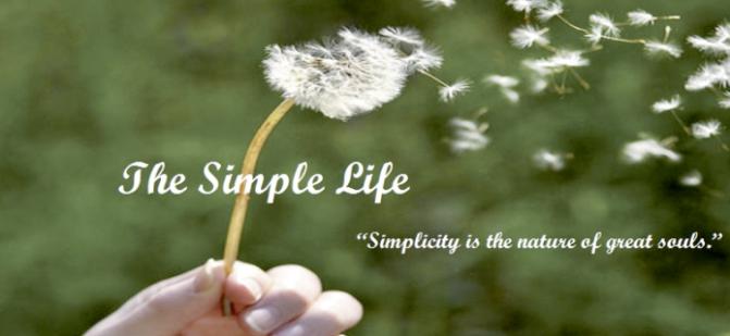 Sống giản dị