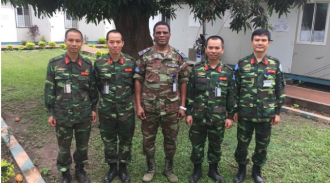 Chiến binh Việt Nam trong lực lượng gìn giữ hòa bình Liên hợpquốc