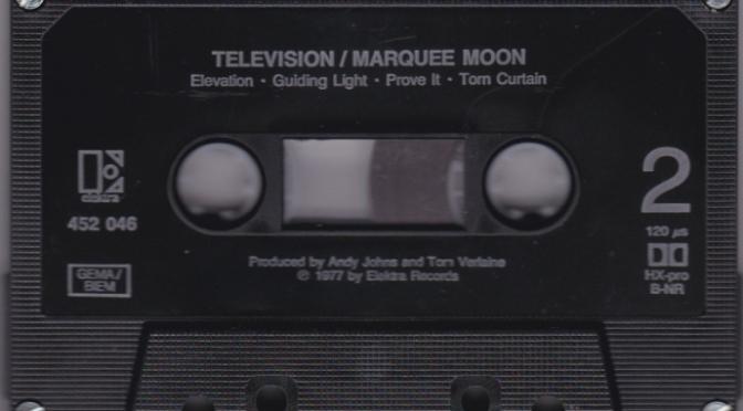 Marquee moon – Ánh trăng mái vòm