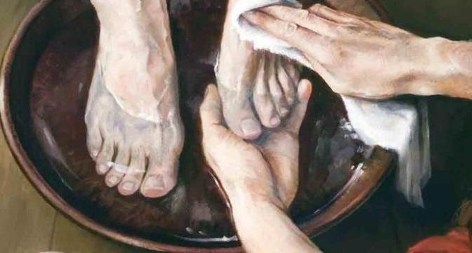 Trái tim rửa chân