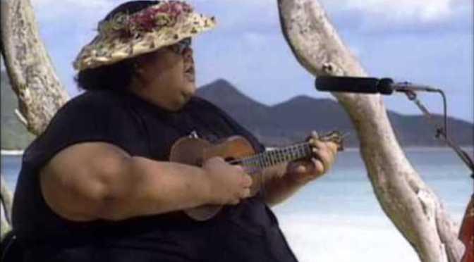 Somewhere Over the Rainbow / What a Wonderful World – Ca sĩ nặng ký Israel Kamakawiwoʻole