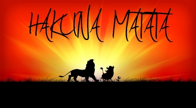Hakuna Matata – No worries – phim The Lion King