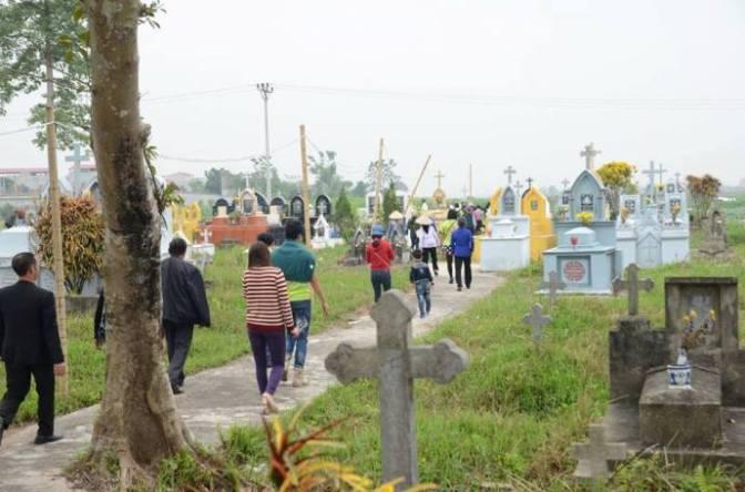 Linh thiêng nghĩa trang