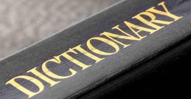 Dictionaries and writing aids – Từ điển và vănphạm