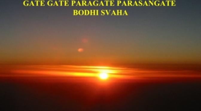 Gate gate Mantra – Câu chú Qua rồi, qua rồi