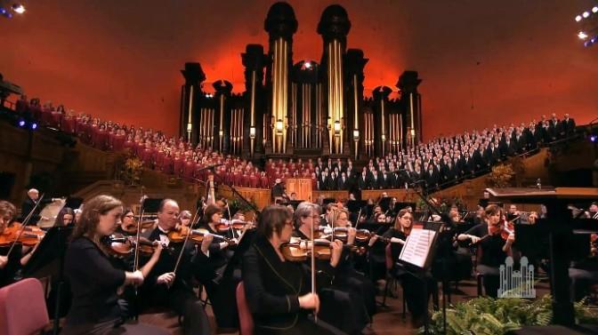 Ban hợp xướngĐền thờ Mormon và nhạc Disney