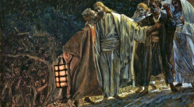 Tình yêu của Jesus dành cho Judas