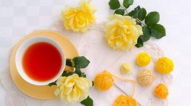 Uống tách trà