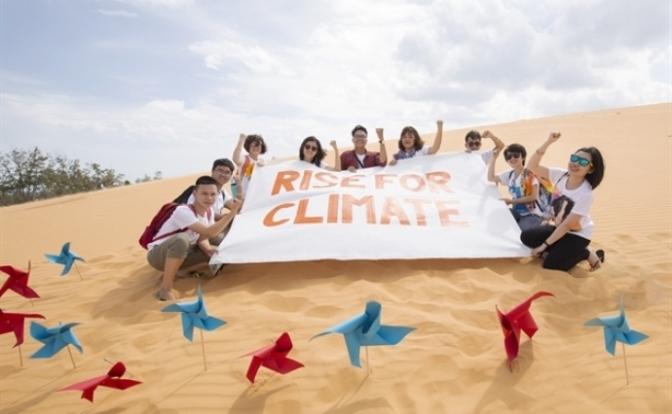 Đứng lên vì Khí hậu – Rise for Climate