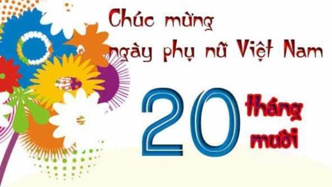 Ngày Phụ Nữ Việt Nam20/10