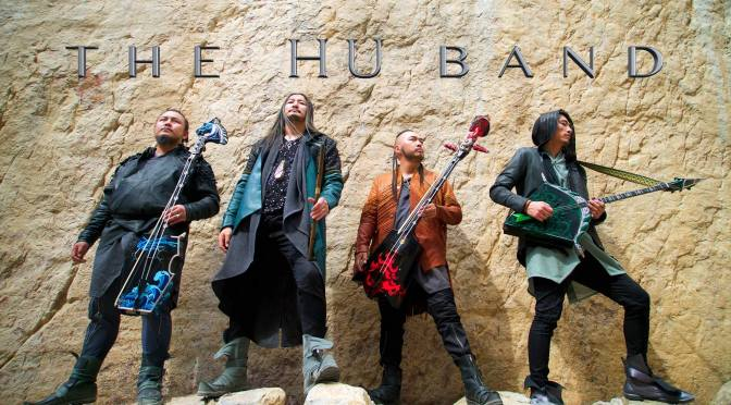 Totem Sói và ban nhạc rock Mông Cổ