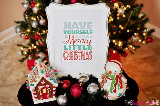 Chúc anh chút Giáng sinh an lành – Have yourself a merry little Christmas