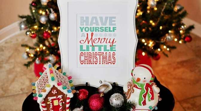 Chúc anh chút Giáng sinh an lành