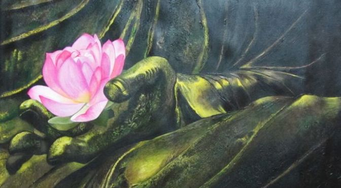 Lotus, mud and Buddha