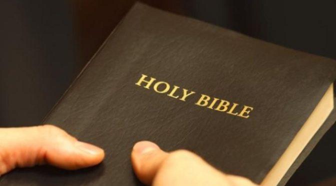 Đọc Thánh kinh là đọc như thế nào?