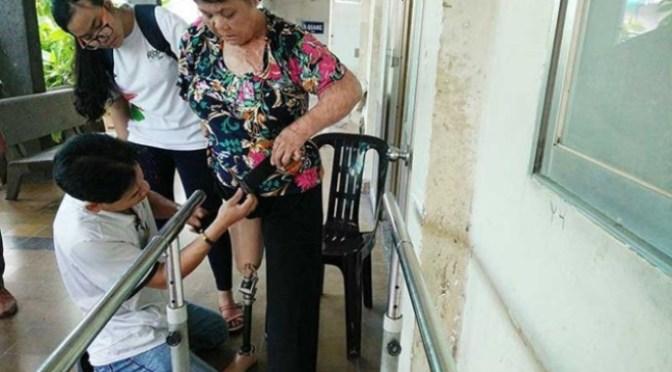Lắp chân tay giả miễn phí cho người nghèo