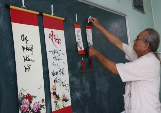 Tản mạn về thú chơi thư pháp ở Sài Gòn