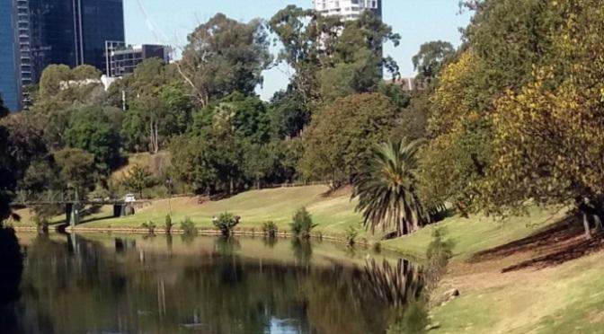 Công viên, quãng nhớ mông lung