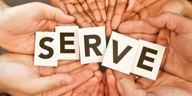 Làm việc để phục vụ thế giới