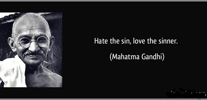 Ghét tội, yêu người có tội
