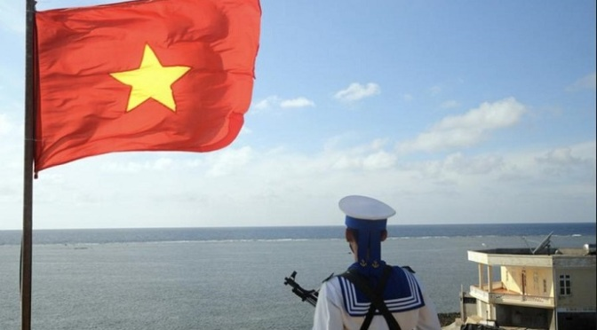 What should Vietnam do to ensure China's proper behavior in the East Sea?