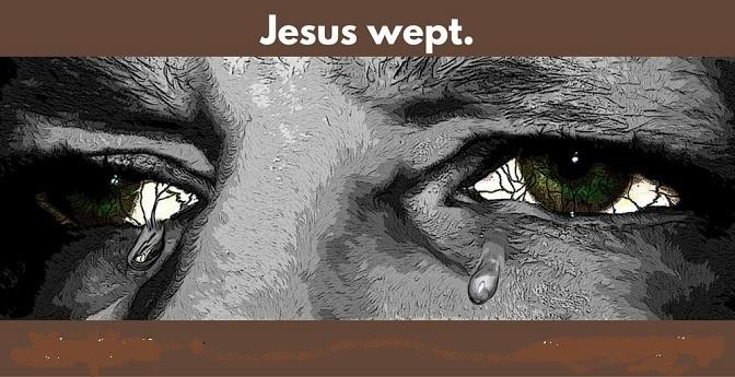 Giêsu khóc