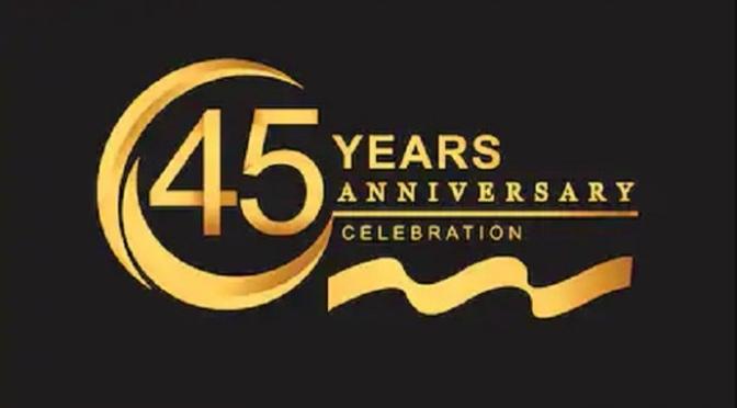 Kỷ niệm 45 năm
