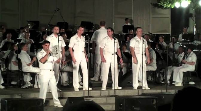 United States Navy Band: Reach out (I'll there)
