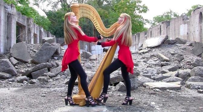 2 Girls 1 Harp