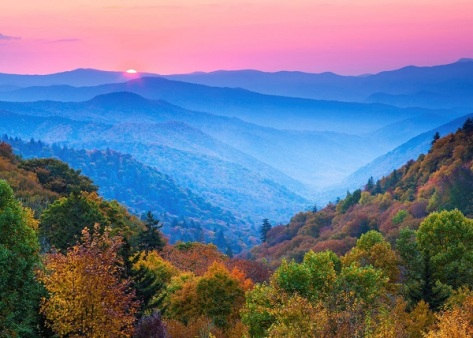 Blue ridge núi