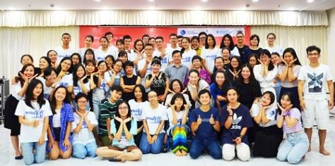 TN2_ Với các diễn giả và học viên dự diễn đàn Liêm chính tại trường Đại học Thái Bình Dương